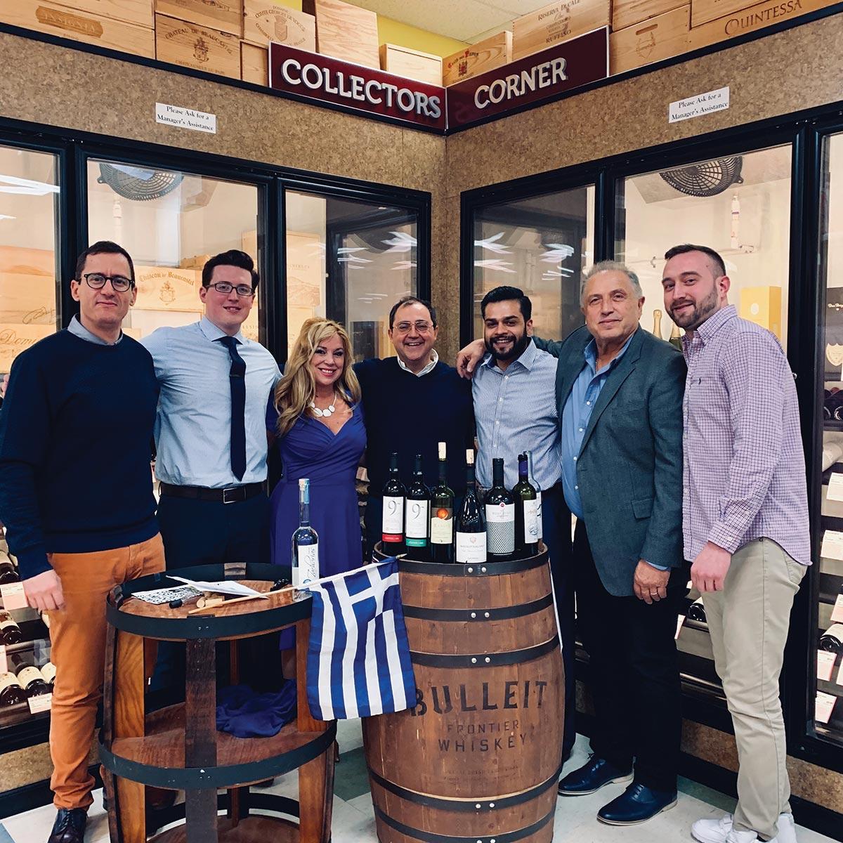 Mina Distributors' Greek Wine Tour Showcases Selections