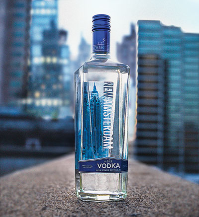 New Amsterdam is a top ten vodka, and not even ten years old.