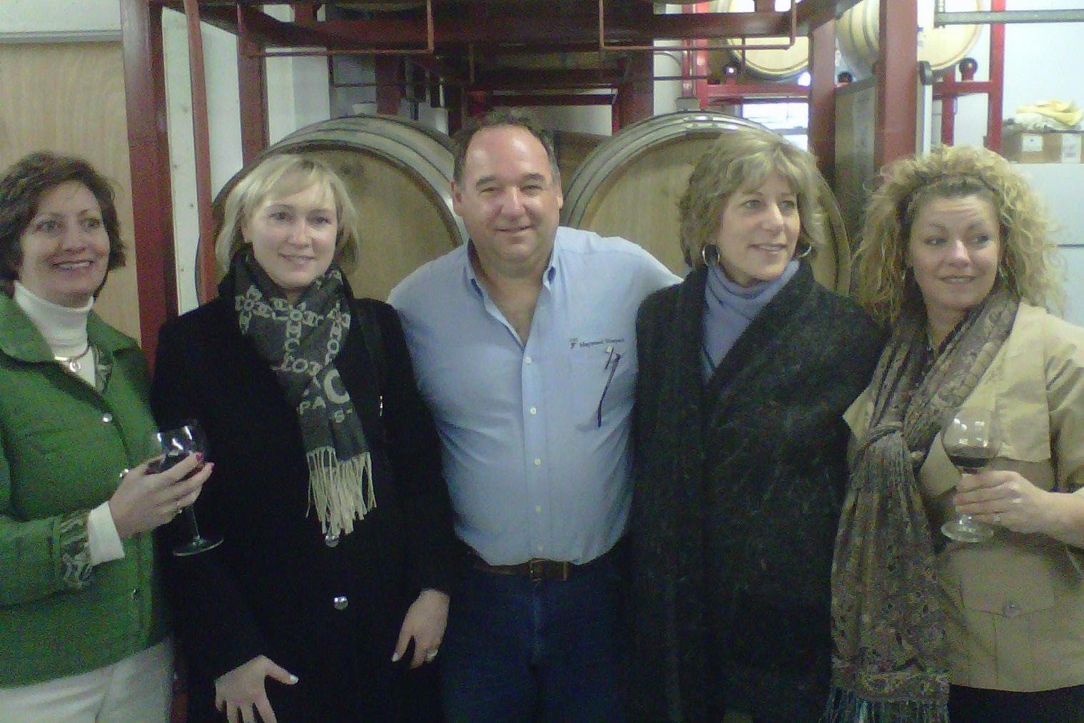 New England Wine & Spirits Visits Maywood Wines