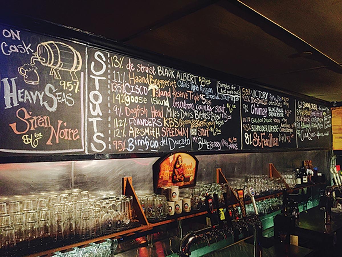 Norey's Named in Great American Beer Bar List 2018