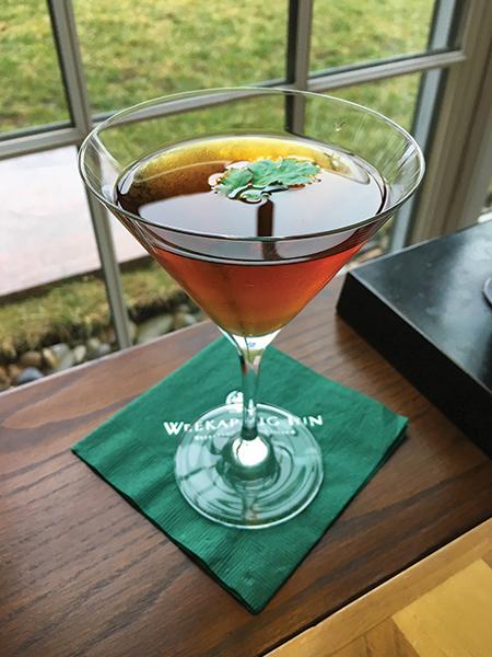 """Serving Up: """"Irish Spring"""" at The Weekapaug Inn"""