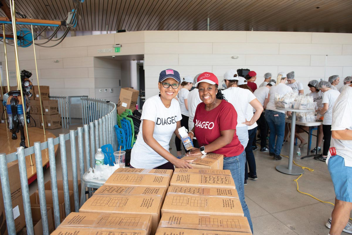 Hundreds of Diageo Employees Volunteer for Local Impact