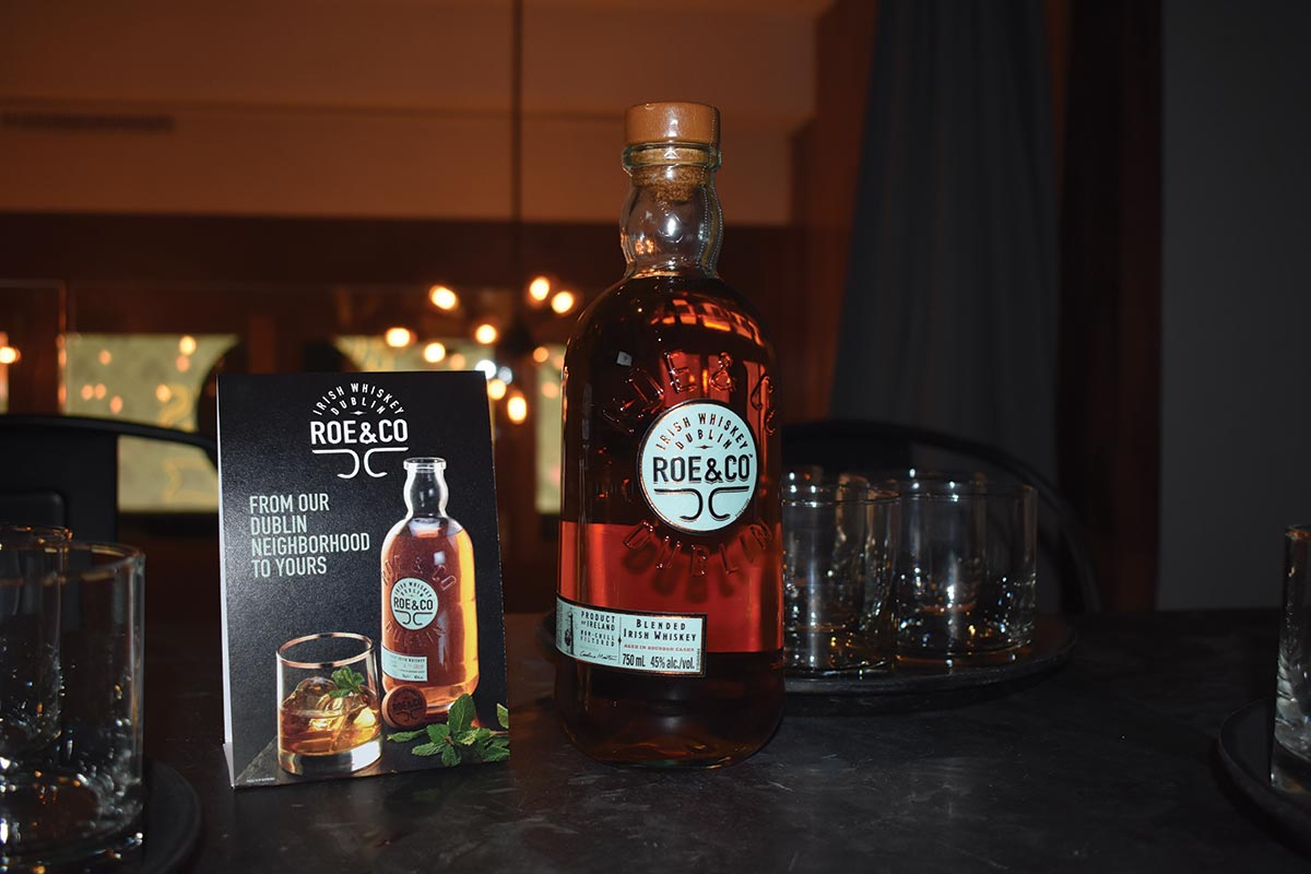Diageo Reserve Team Hosts Roe & Co Whiskey Launch for USBG