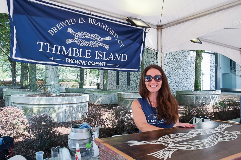 Thimble Island Brewery Pours at Summer Festivals