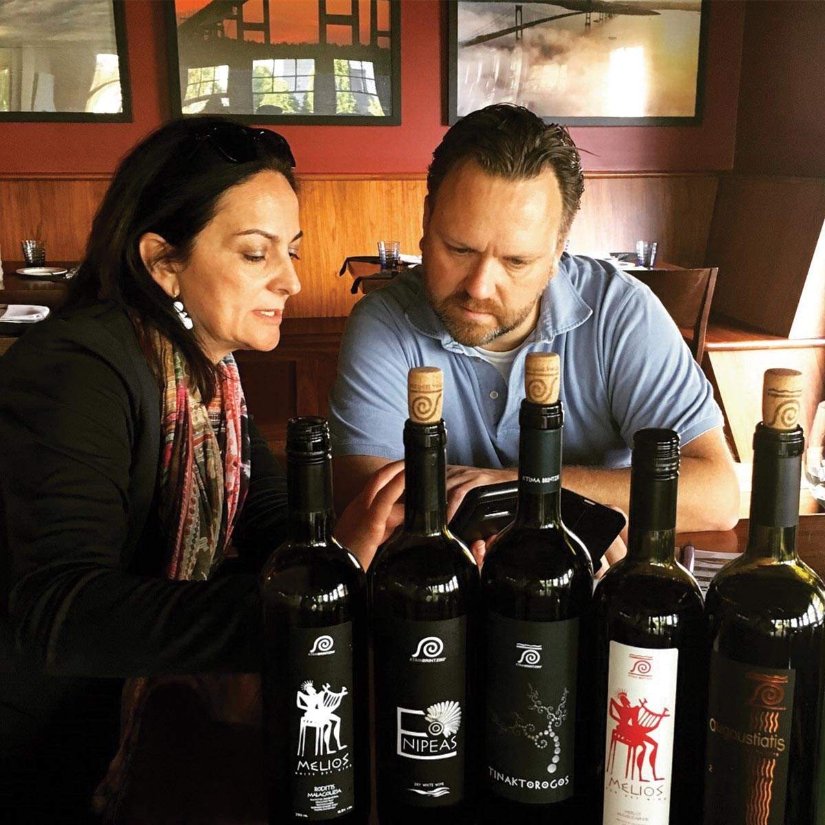 Sage Cellars Welcomes Ktima Brintziki Winemaker from Greece | The