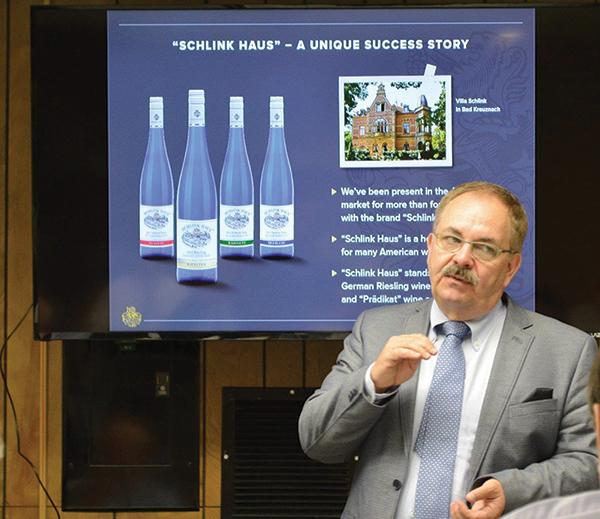 Schlink Haus Wines Featured At Brescome Barton Sales