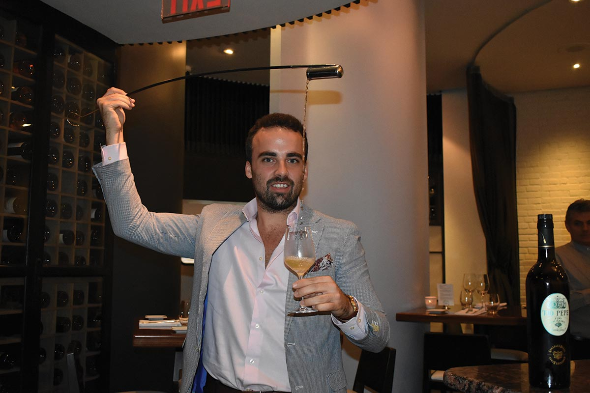 Slocum & Sons Hosts González Byass Sherry Brand Ambassador