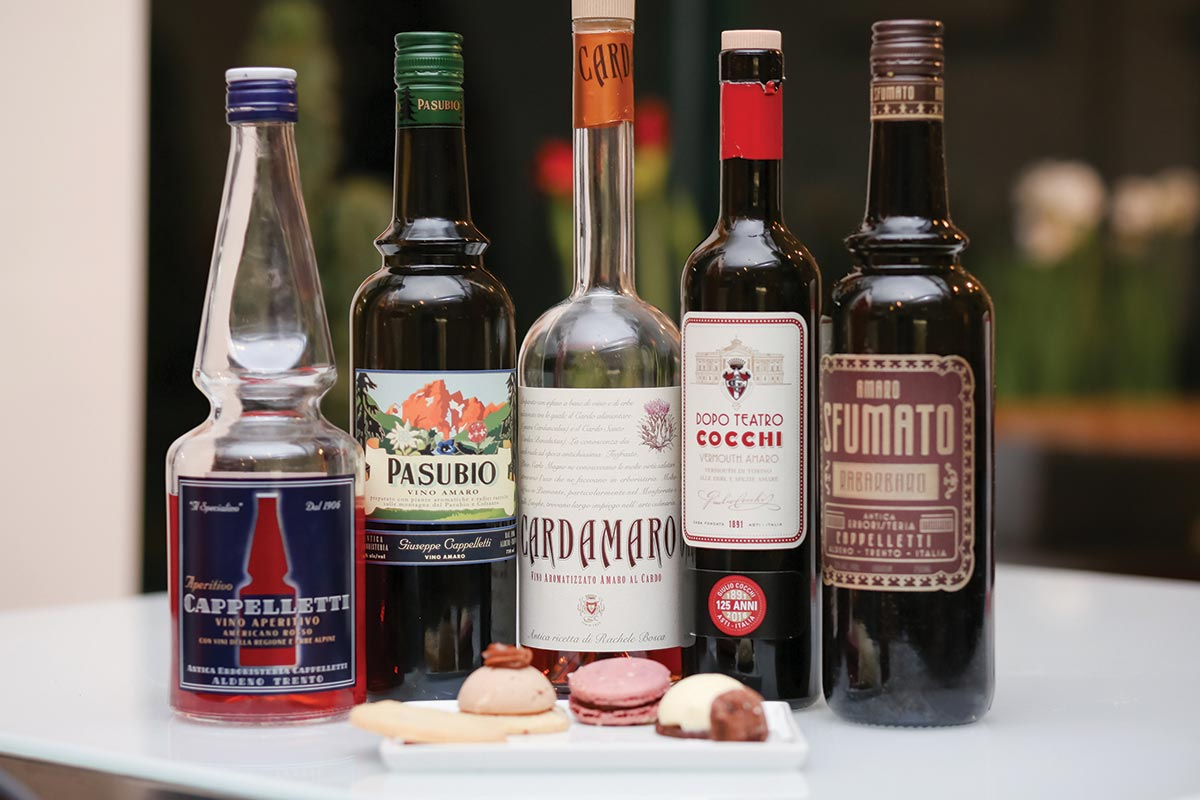 Amaro Tastings and Cocktails Showcased at Sin Bakery