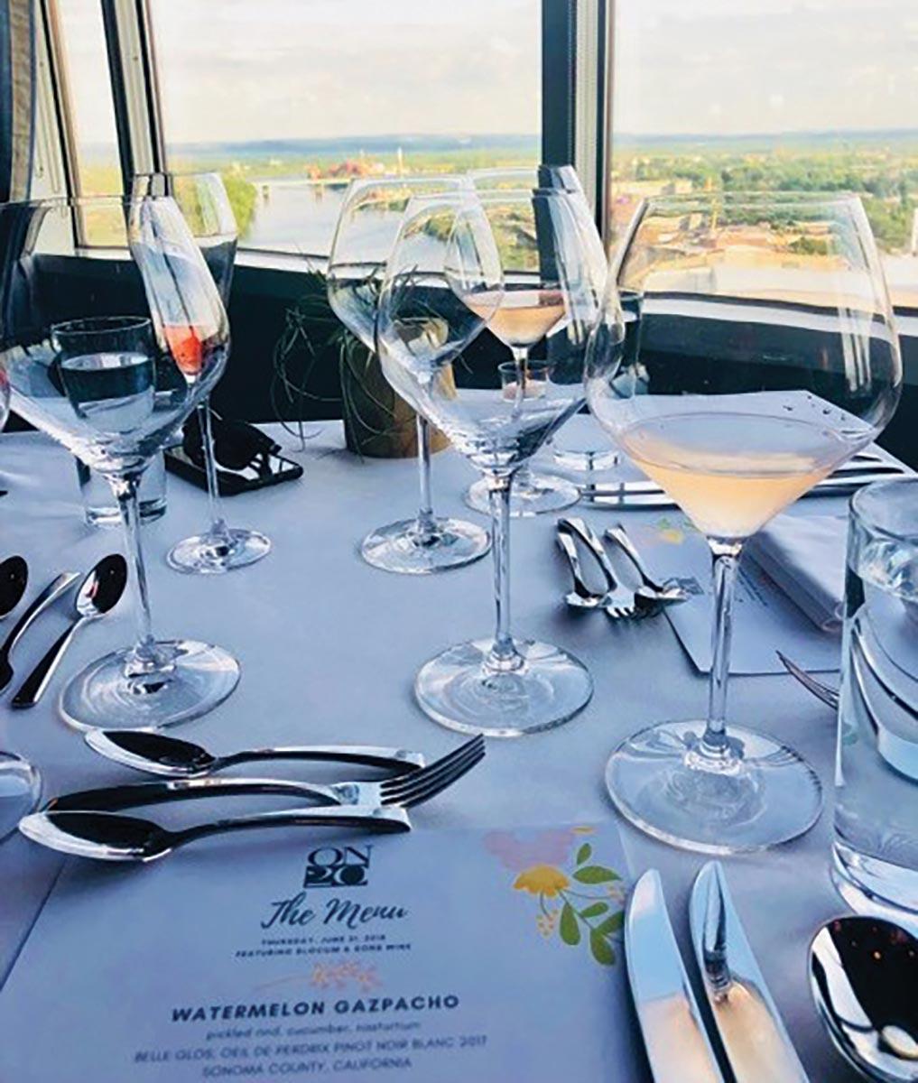 Slocum & Sons Hosts Rosé Dinner at ON20