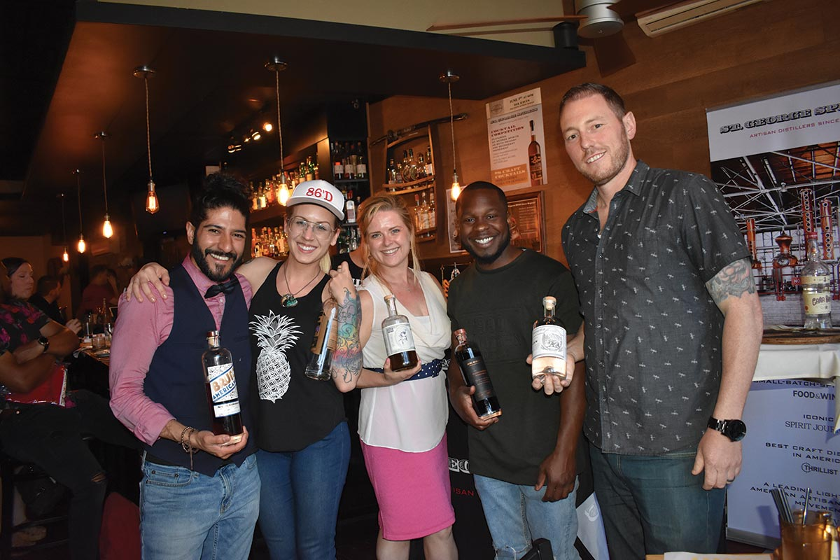 St. George Spirits Highlighted During Cocktail Competition