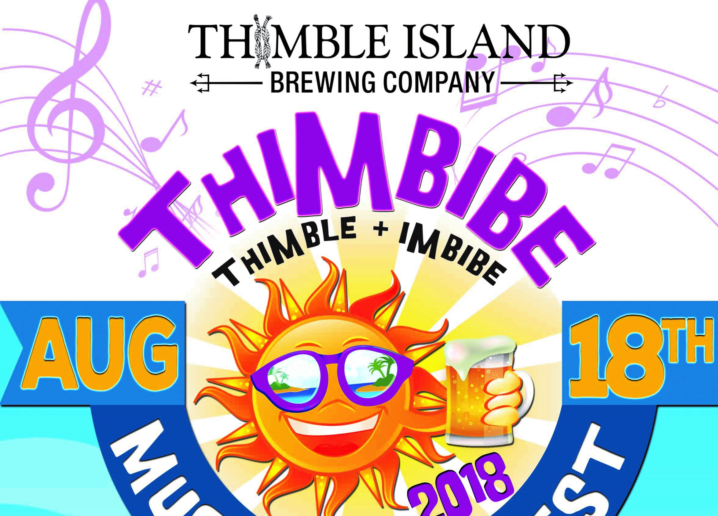 August 18, 2018: Thimbibe Music & Beer Fest