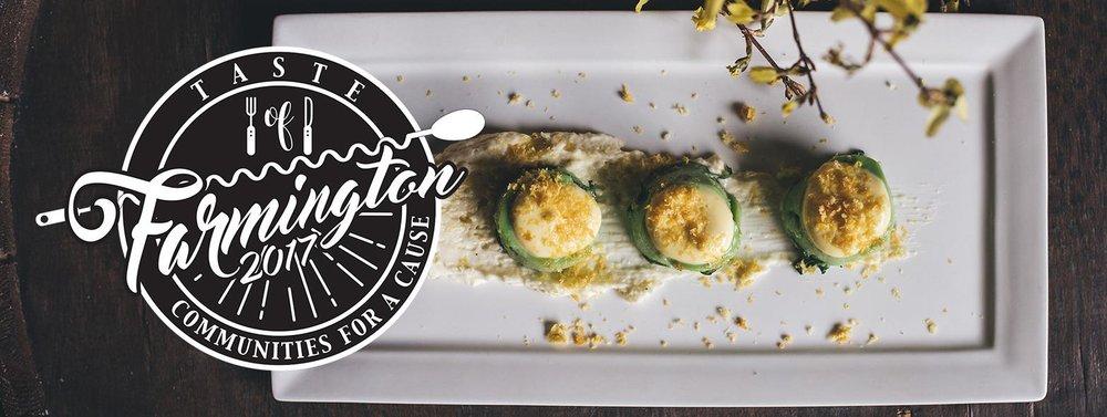 April 27, 2017: Cure Restaurant Hosts Taste of Farmington