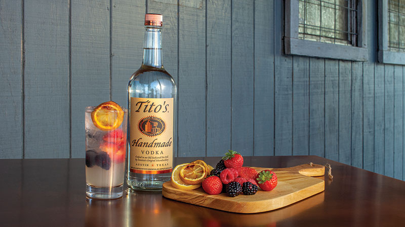Tito's Handmade continues to be a market leader and the centerpiece of Texas's burgeoning vodka scene.