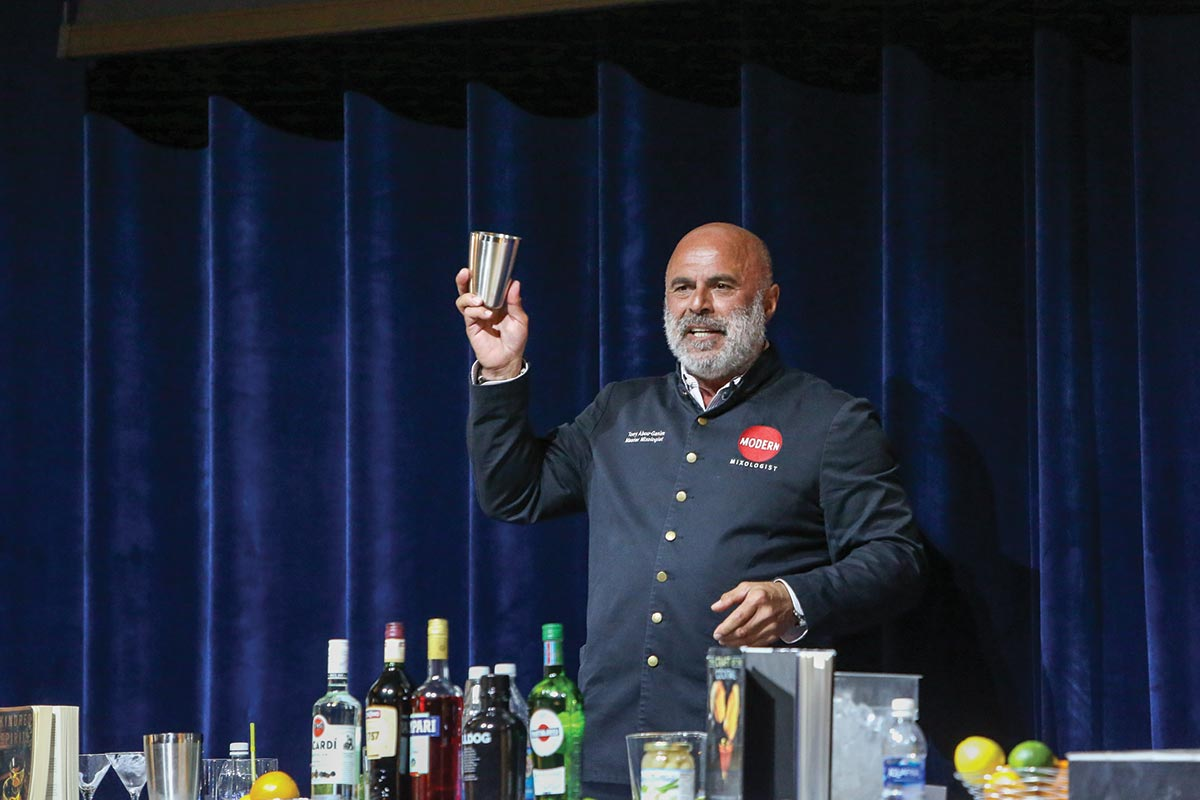 Johnson & Wales Welcomes Mixologist Abou-Ganim