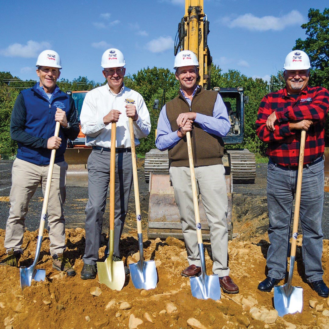 Two Roads Brewing Raises Funds, Breaks Ground