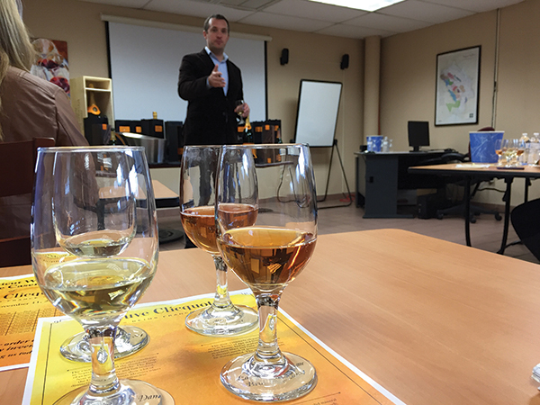 Slocum & Sons Hosts Veuve Clicquot Winemaker