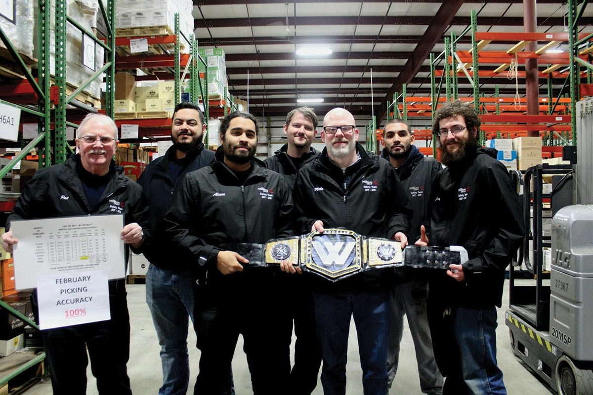 Winebow Recognizes Warehouse Team for Order Accuracy