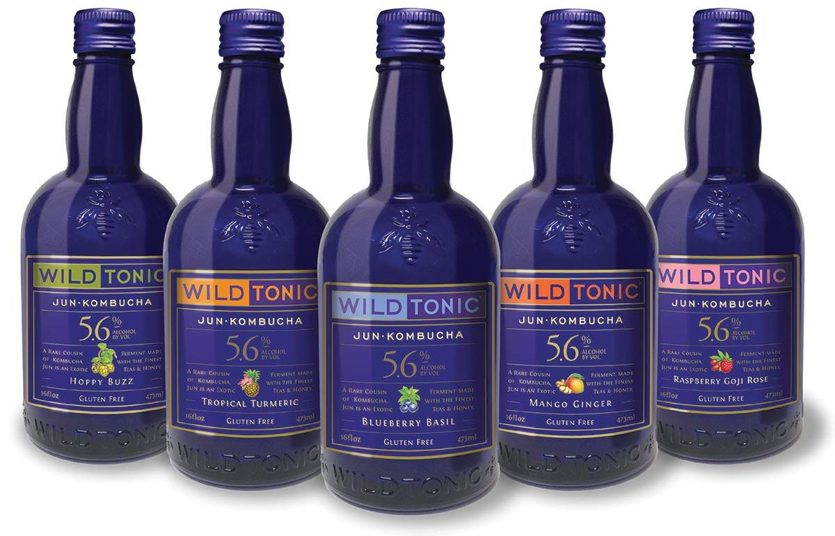 Brescome Barton Offers New Wild Tonic Kombucha Line