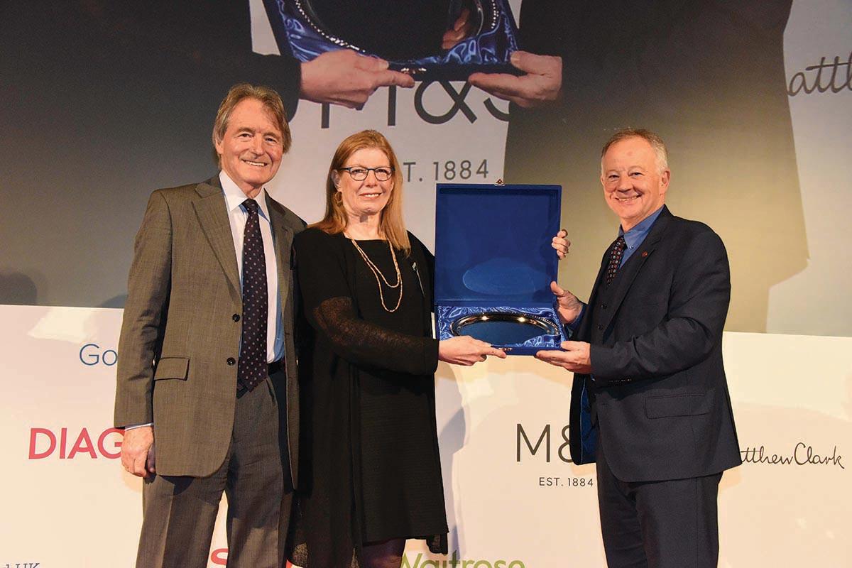 Ewing-Mulligan Presented with WSET Lifetime Achievement Award