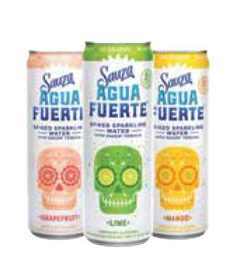 Sauza Tequila Launches Agua Fuerte RTD
