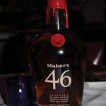 Maker's Mark, the final whiskey, was paired with dessert and served neat.