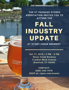 CPSA Fall Industry Update @ Stony Creek Brewery | Branford | Connecticut | United States