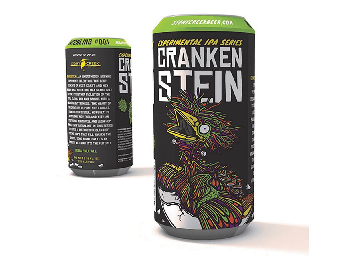 Stony Creek Brewery Introduces Crankenstein IPA Series