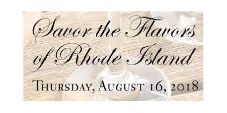 August 16, 2018: Savor the Flavors of Rhode Island