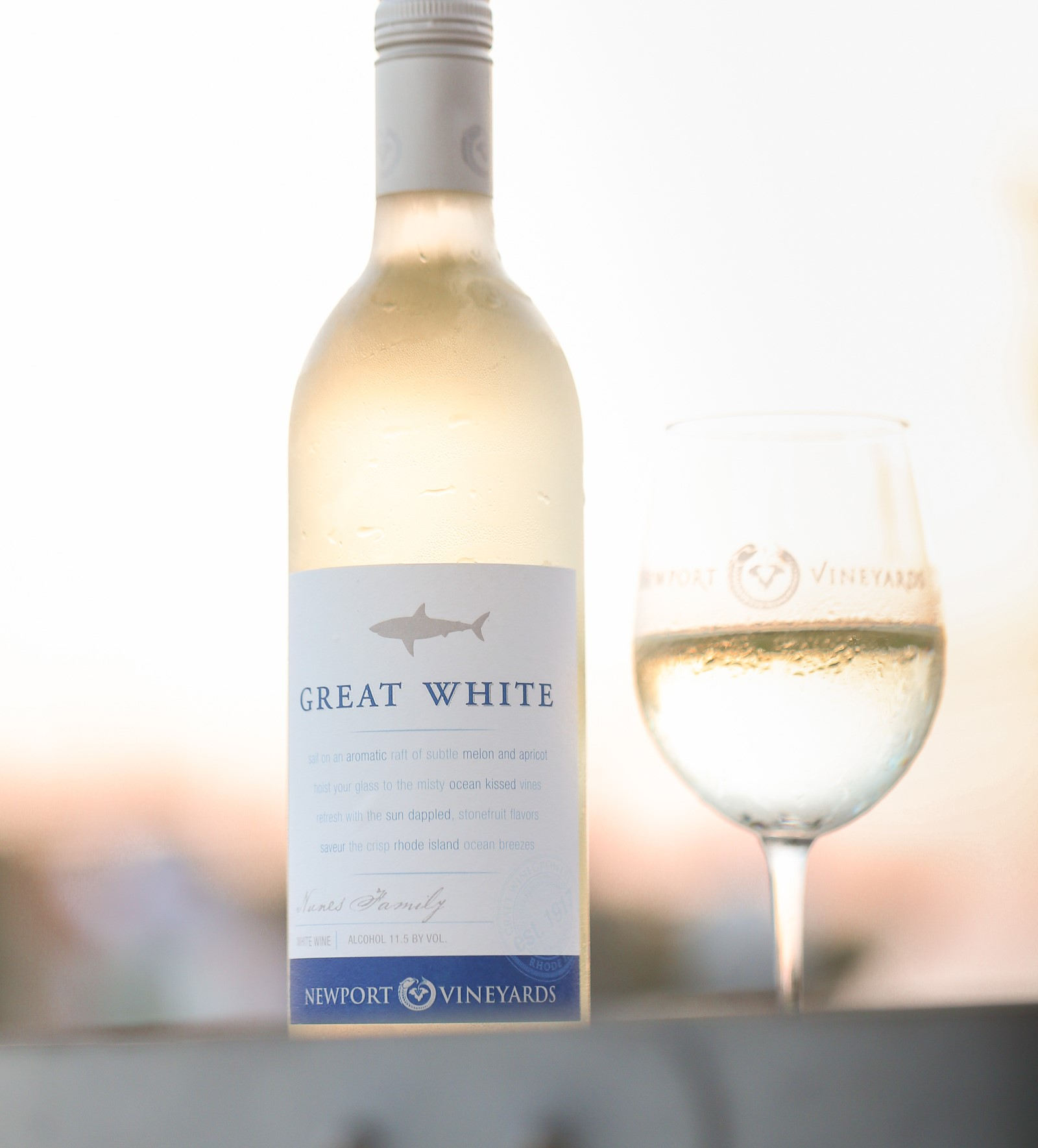 Newport Vineyards Great White Marks Twentieth Anniversary