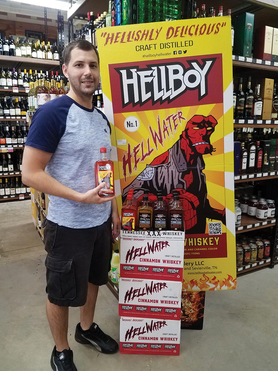 Hellboy Cinnamon and XXX Whiskies Make Market Entry