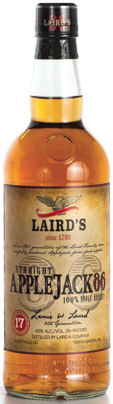 Laird Launches Straight Applejack 86