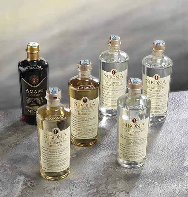 Sibona Italian Liqueurs Available in Rhode Island through M.S. Walker