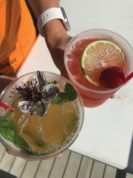 Pogash Creates Tastes at Summer Season Events