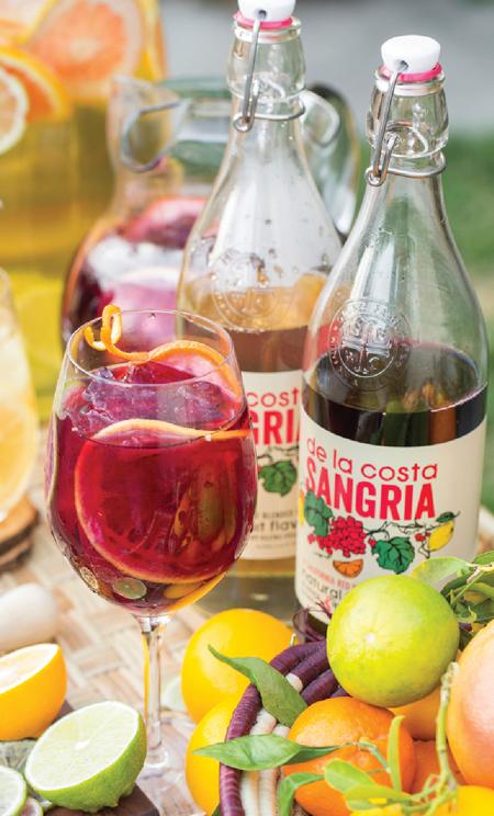 Brand Profile: Glunz Family Winery's De La Costa Sangria