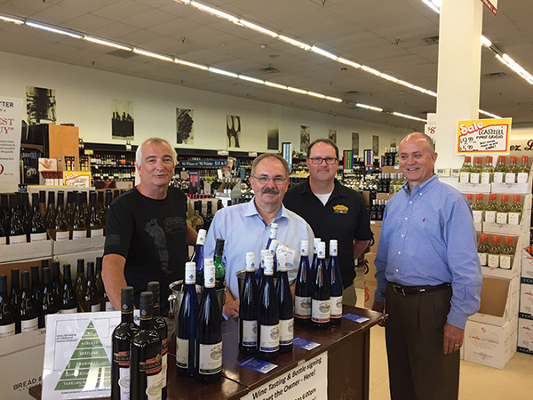 Dan Haus schlink haus wines features selections locally in july the