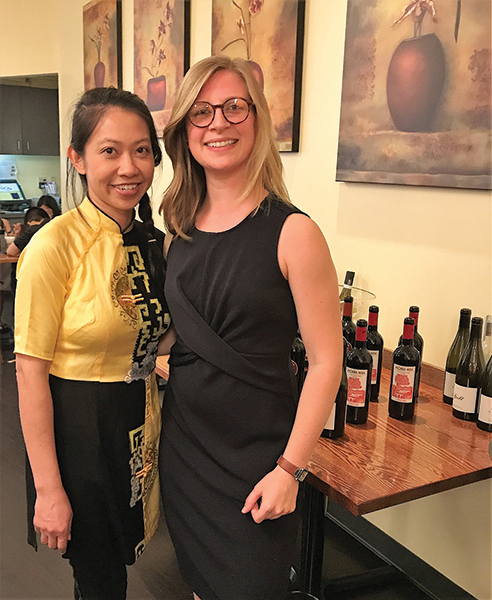 Slocum & Sons Hosts Wine Dinner at Lan Chi's in Middletown