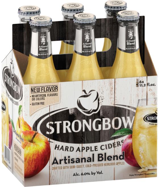 Strongbow Hard Apple Cider Releases Artisanal Blend