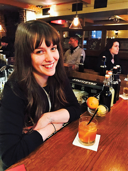 "Serving Up: The Point Tavern's ""Tequila Old Fashioned"""
