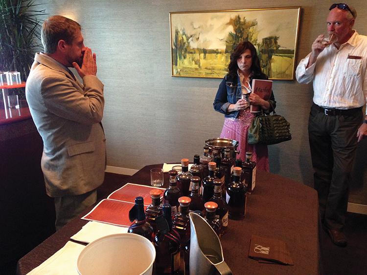 Brescome Barton Hosts Whiskey Showcase at On20