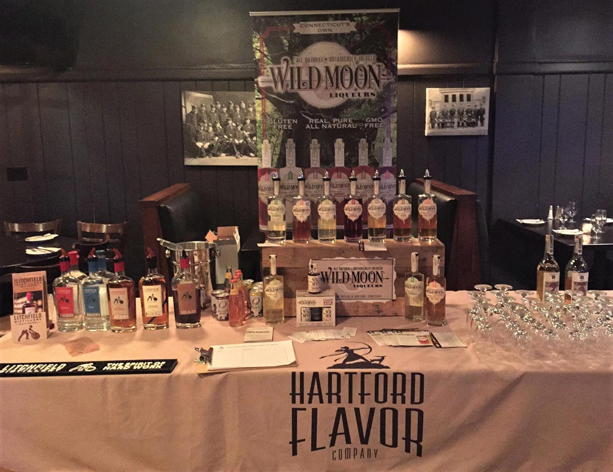 Hartford flavor company celebrates expansion into new york the expanded distribution into the state of new york to celebrate a launch event with blueprint brands featured the all natural botanical liqueurs during malvernweather Image collections