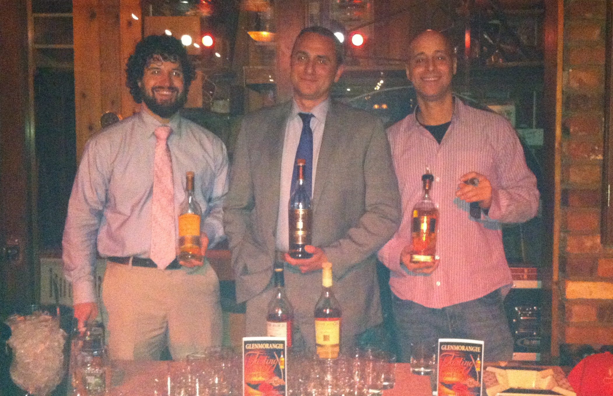 Glenmorangie Scotch and Cigar Tasting Held at Owl Shop