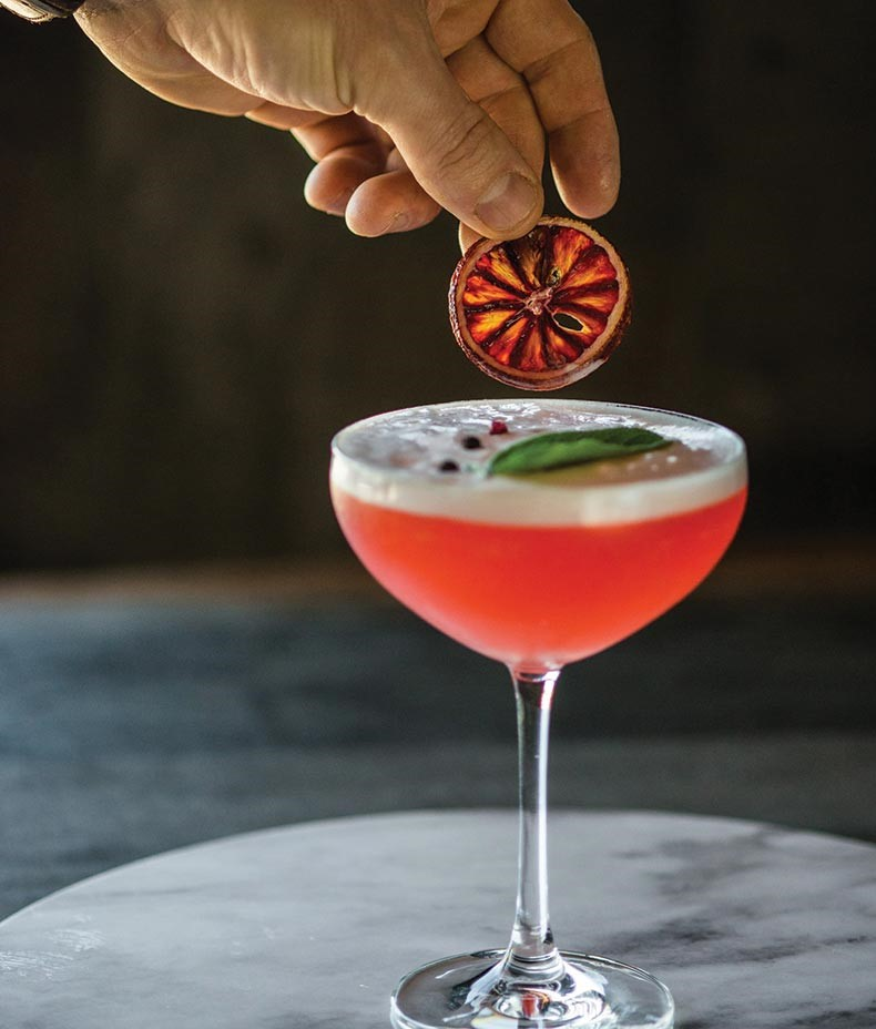 Serving Up: The Aperol Sour at Forks & Fingers
