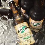 Newport Storm beer.