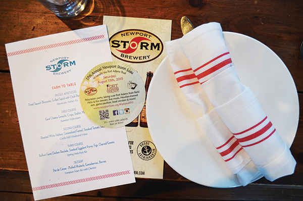 Newport Storm and Smoke House Pair Up for 'Farm-to-Table' Dinner