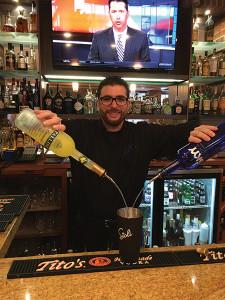 Bartender Nico DeNovellis