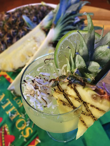 Grilled Pineapple & Toasted Coconut Margarita