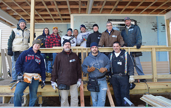 Allan S. Goodman Employees Build with Habitat for Humanity