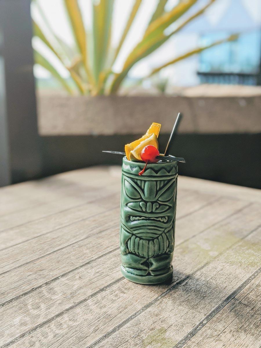 Black Infusions Tiki Mug Program Showcases Tropical Tastes