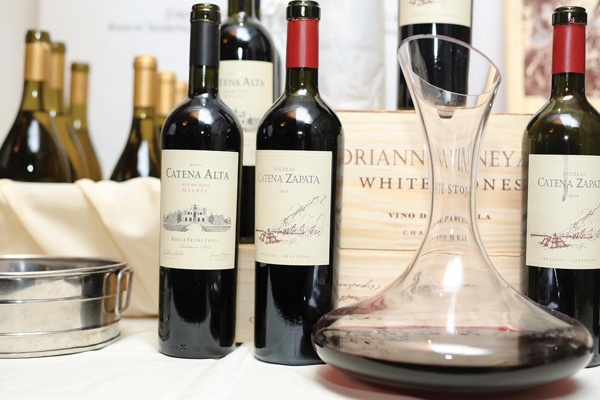 Bodega Catena Zapata Wines Showcased at Pairing Dinner