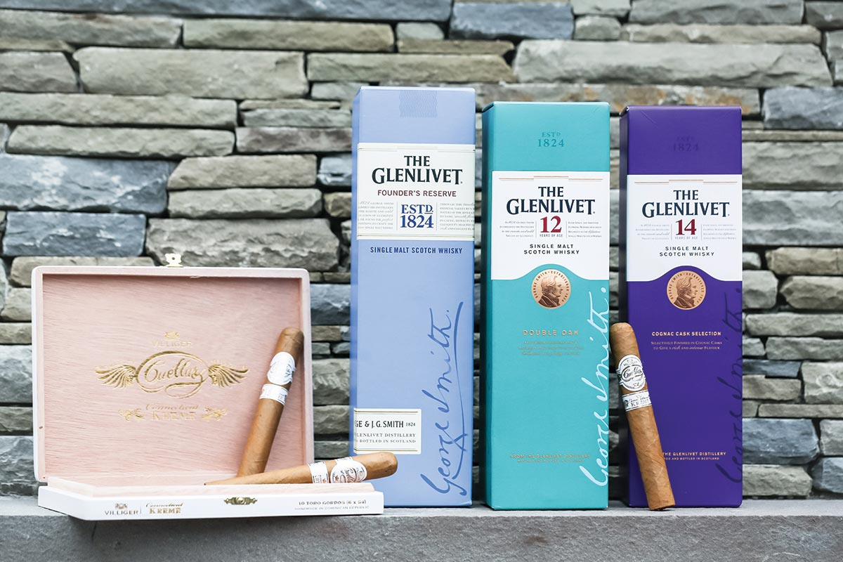 The Glenlivet Highlighted at Spirits & Stogies Dinner